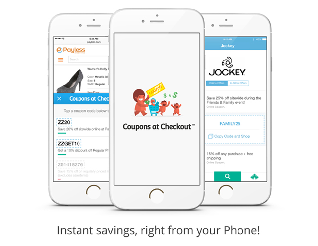 Coupons at Checkout for iOS